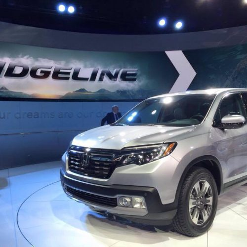 Honda Ridgeline ใหม่ กระบะใหม่ค่ายฮอนด้าเปิดตัวในสหรัฐฯแล้ว